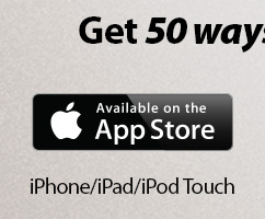 Get 50 ways to share your faith from the iTunes App store