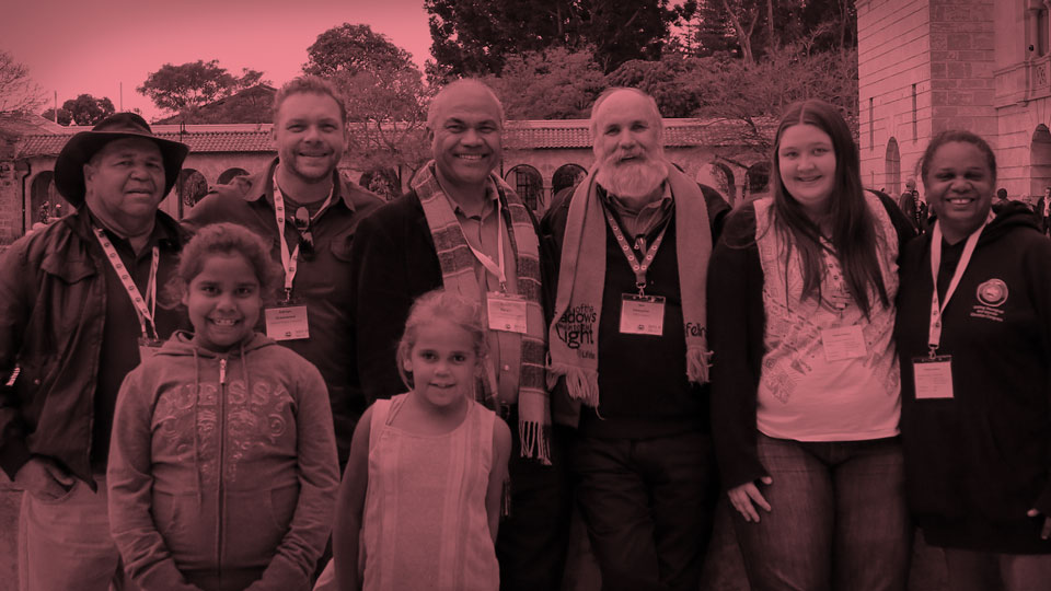 The 14th Assembly of the Uniting Church in Australia stood as one to oppose the forced closure of remote Aboriginal communities.