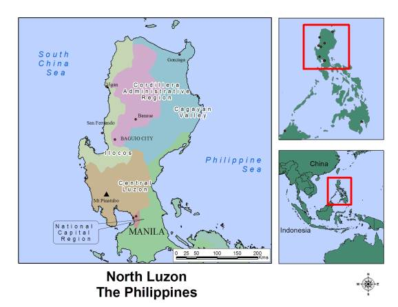 Uniting Church Sa Philippines Location Map