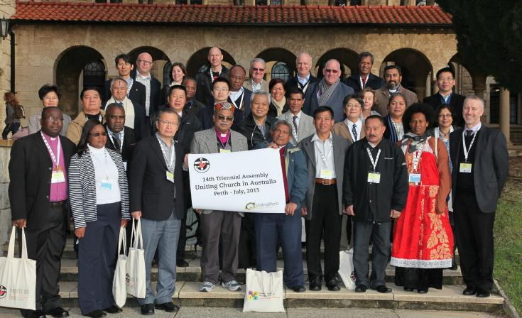 UnitingWorld leaders at the UCA Assembly in 2015