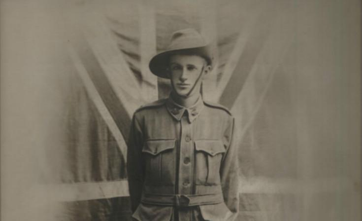Benhardt Gabel, one of the first ANZACs, aged 21.