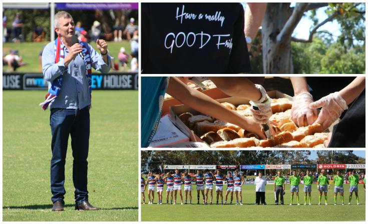 Photos from Good Friday at Elizabeth Oval