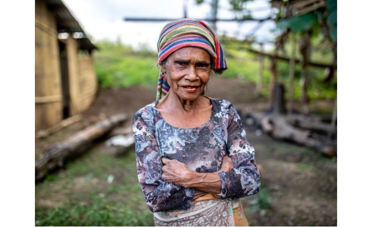 Rosita lives in a remote community in the mountains outside Dili. Her life has been transformed by the work of our partner church health clinic.